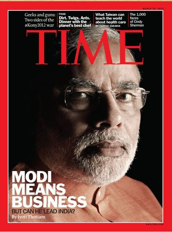 Narendra Modi on the TIME's cover