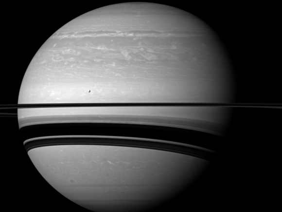 UP CLOSE: Saturn's glorious rings and mysterious moons