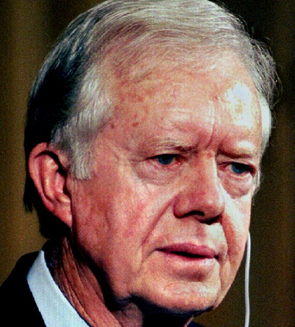 Former US President Jimmy Carter
