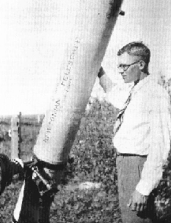 Well-known American astronomer Clyde W Tombaugh