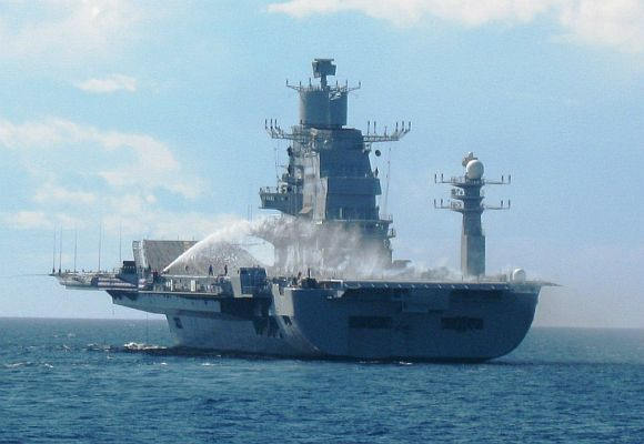 PM to sail on INS Vikramaditya on June 14