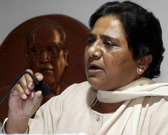 Mayawati expels BSP MLA for skipping K'taka trust vote