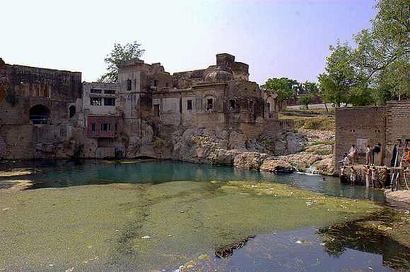 The Punjab government undertook restoration work of the pond