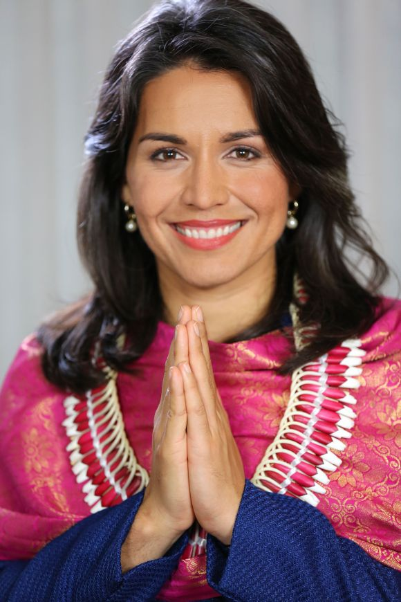 Tulsi Gabbard won Hawaii's 2nd Congressional District on a Democratic ticket