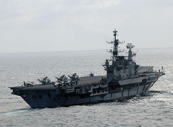 INS Viraat heads for 5-month long refit, setback for Navy