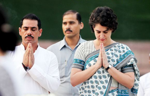 Did info on Vadra's business dealings come from within the govt?