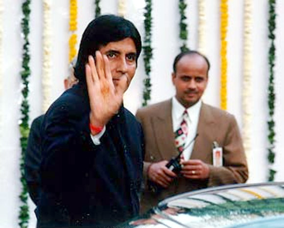 Amitabh Bachchan at the wedding