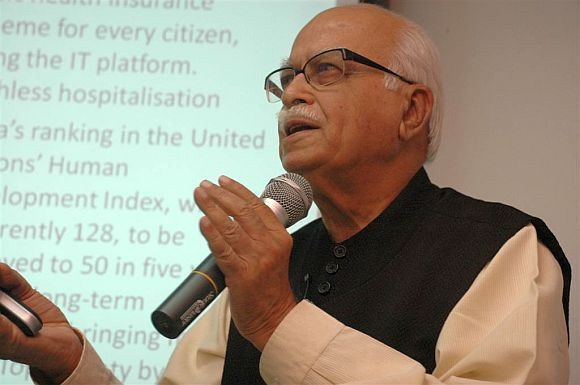 Senior BJP leader L K Advani