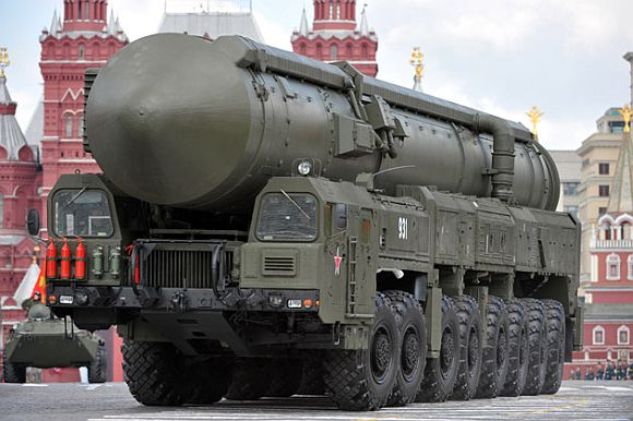 The Russian SS-27 or Topol-M
