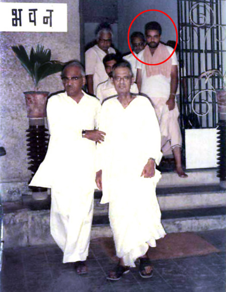 Modi when he was a RSS pracharak