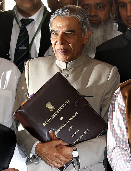 Railway Minister Pawan Kumar Bansal is stymied by the Railway Board.
