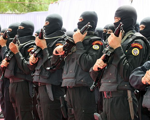 Indian Special Forces. Photograph: Kind courtesy Defence Forum India