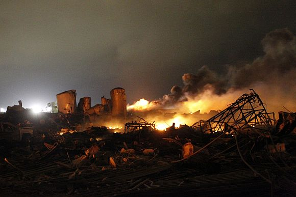 Deadly devastation at Texas factory