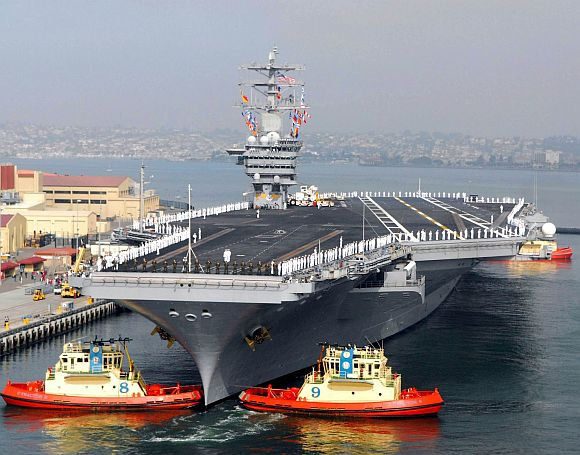 Liaoning is the first aircraft carrier commissioned into the People's Liberation Army Navy
