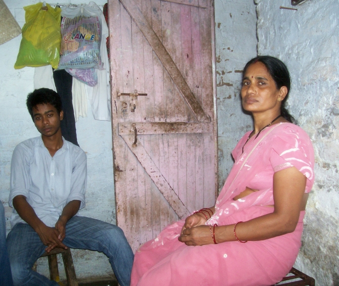 Delhi gang-rape victim's mother and brother