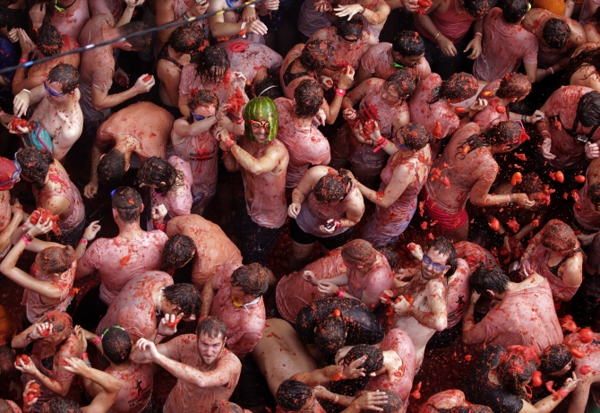 The TOMATINA album: World's biggest food fight, now at a price