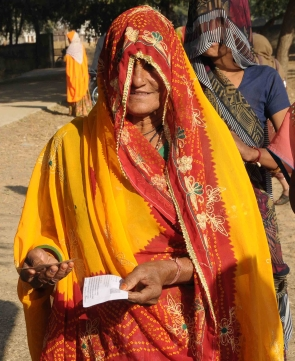 Record 74 pc voting in Rajasthan assembly polls