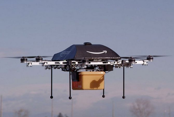 This drone may deliver your next Amazon order