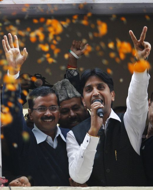 Perhaps it was a bad idea to have Kumar Vishwas contest from Amethi which was not his home ground.