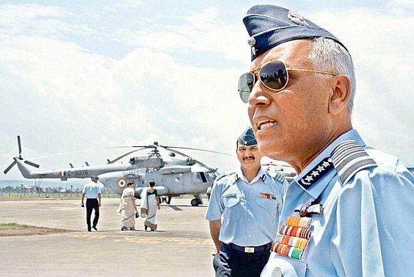 Former Air Chief Marshal S P Tyagi