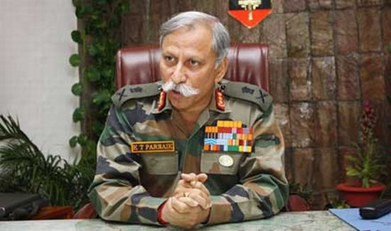 Lt Gen K T Parnaik, General-Officer-in Command (Northern Command)