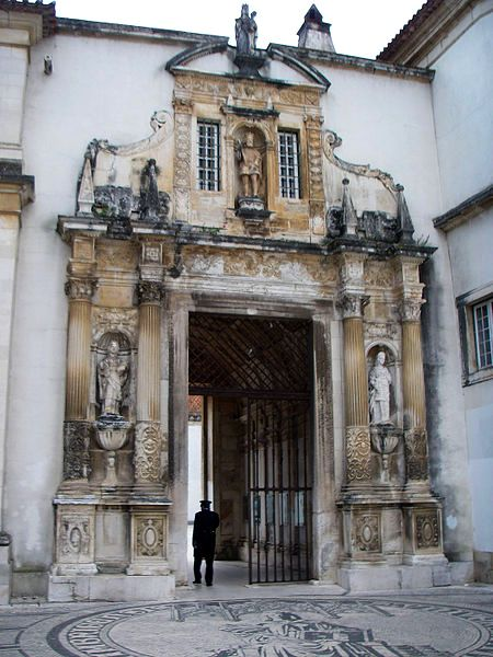 The Palace Gate at the University of Coimbra