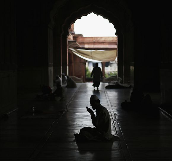 A Ramzan evening at Jama Masjid