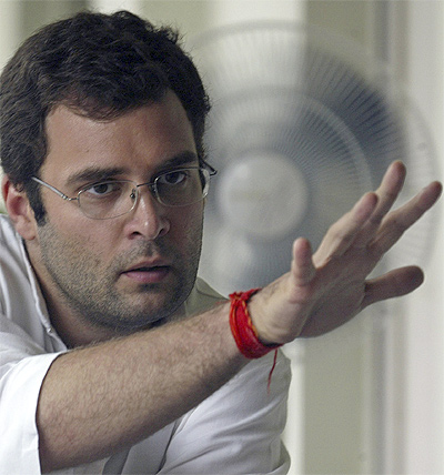 Rahul Gandhi opts for an aggressive new avatar.