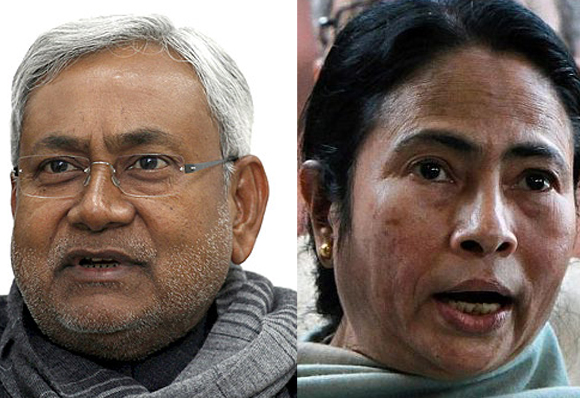 Survey: Nitish may hold on in Bihar; Mamata INTOLERANT