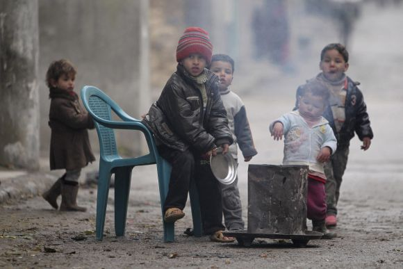 Children of Syria: Childhood lost in violence and conflict