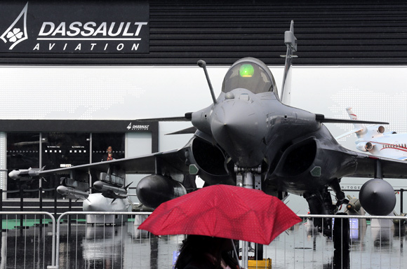 Military might at the Paris Air Show