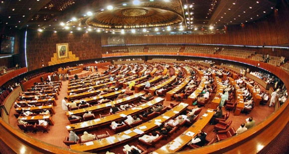 The Pakistan national assembly