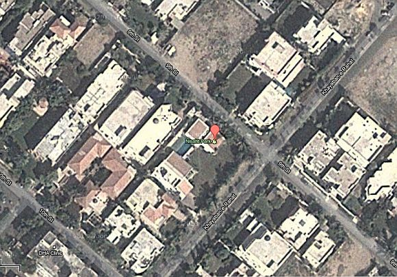 Defence Housing Colony, residential area Phase VI in Karachi