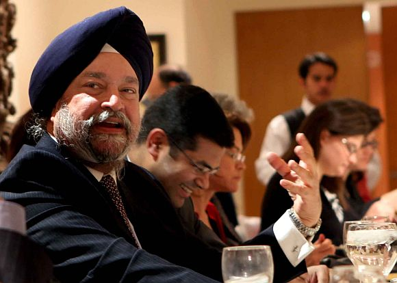 Hardeep Puri, then India's permanent representaive to the United Nations. Photograph: Paresh Gandhi