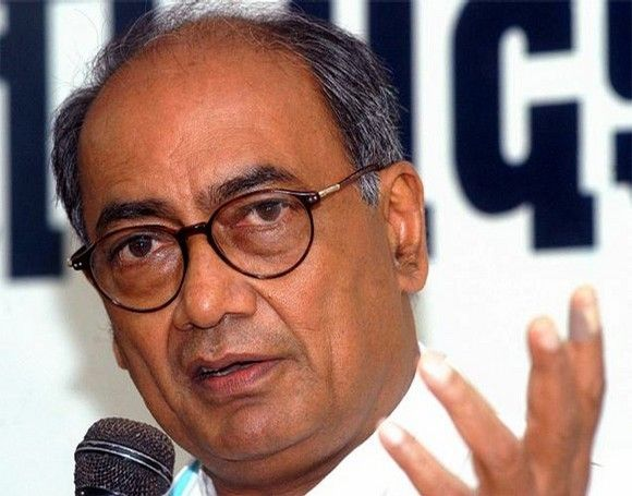 General secretary in-charge of Andhra Pradesh, Digvijaya Singh
