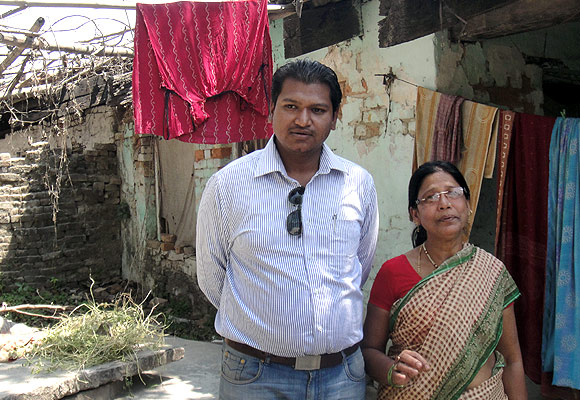 Madhulika Rai and her son live in the house which was alotted to her husband, a teacher. Mr Rai passed away last year.