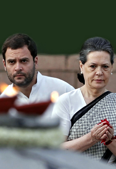 Rahul Gandhi is not keen on becoming prime minister. His mother Sonia has made it clear she won't ever take up the post.