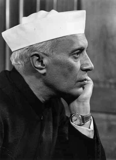India's first prime minister Jawaharlal Nehru in seen in this January 1955 picture