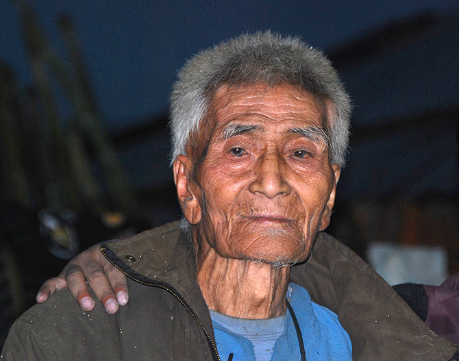 The oldest man in Menchuka is 101 and wants the prime minister to reopen the border so that he can visit his relatives in Tibet and bring back yaks from there.