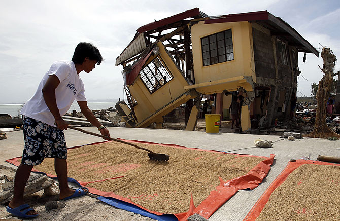 The aftermath of one of world's worst typhoons ever