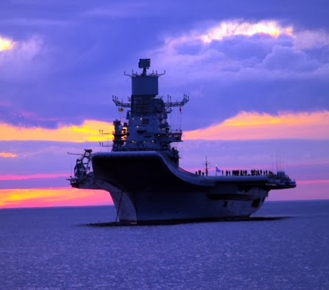 INS Vikramaditya to get teeth, will be fitted with Barak missiles