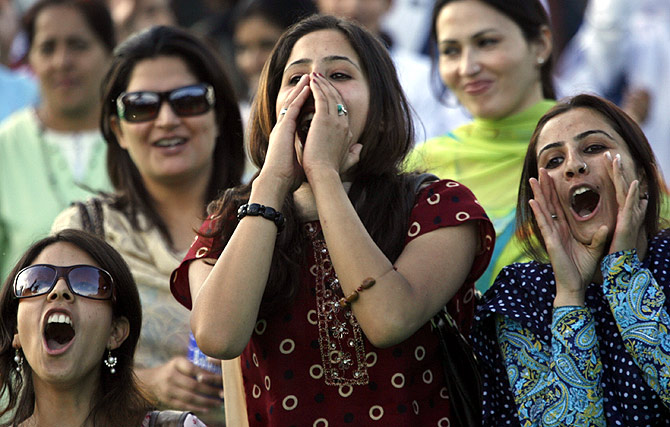 Women at a music concert in Srinagar. Photograph used for representational purposes only.