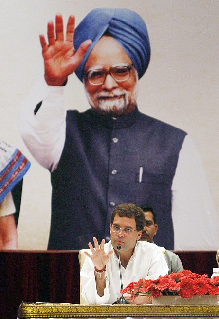 The balance of power between Dr Manmohan Singh and the Congress has shifted towards Rahul Gandhi.