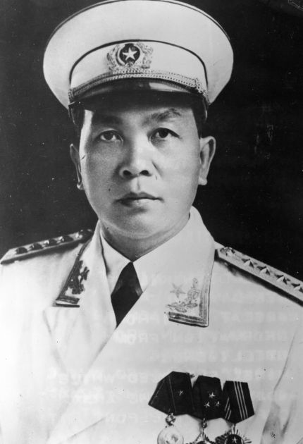 A 1968 photograph of General Vo Nguyen Giap