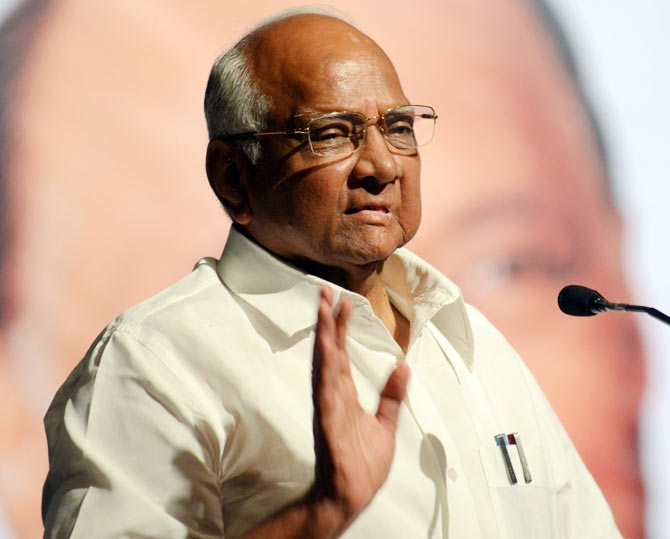 Nationalist Congress Party President Sharad Pawar