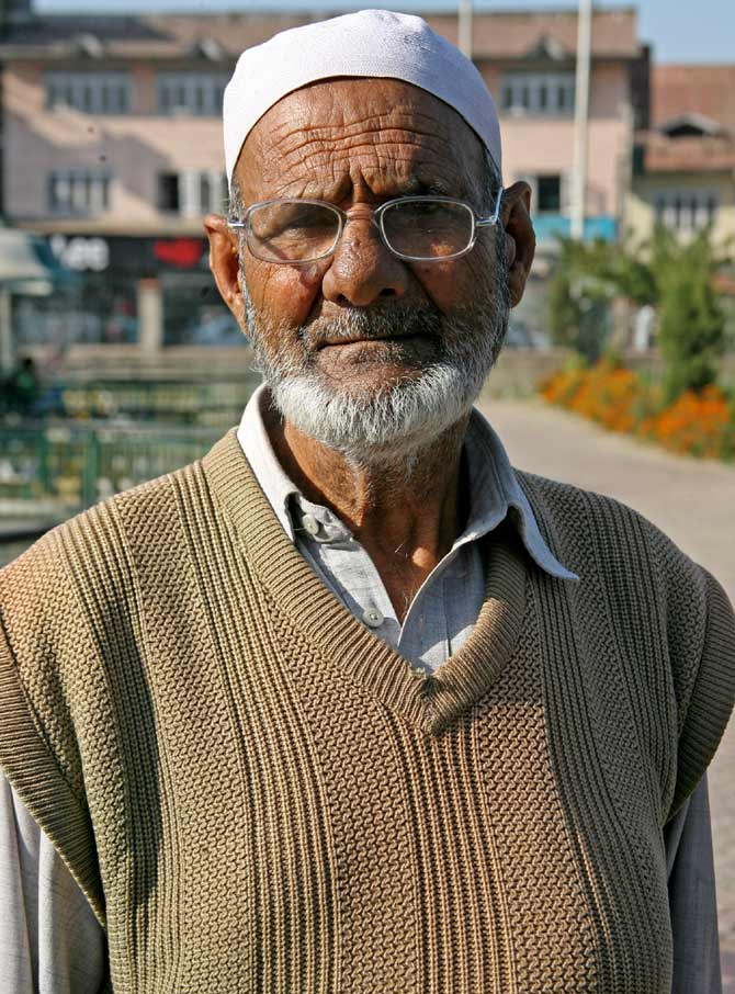 Mohammad Abdul Salam from Srinagar's Chattabal locality