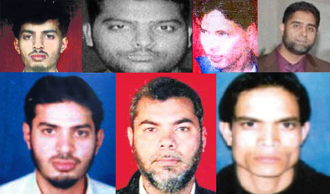 Some of the most wanted IM terrorists