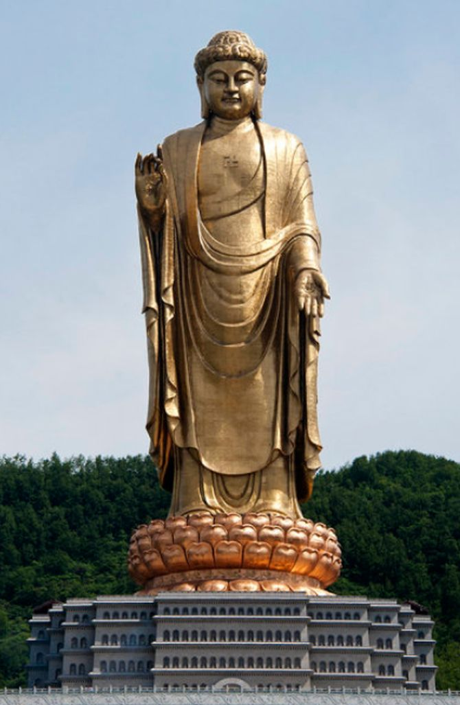 Spring Temple of Buddha, Henan, China (Height 153m)
