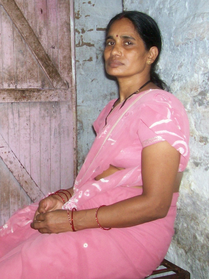 The mother of the Delhi braveheart at her house
