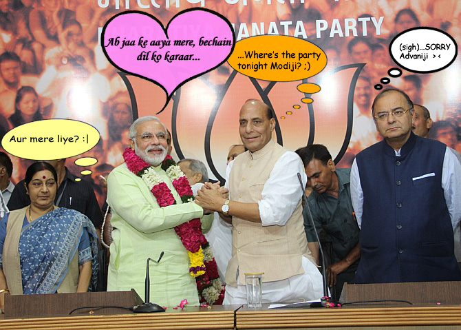 HUMOUR: What REALLY happened at Modi's coronation